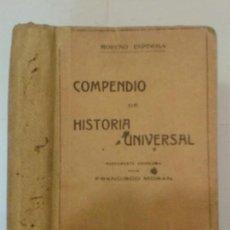 Libros antiguos: COMPENDIO DE HISTORIA UNIVERSAL 19?? ALFONSO MORENO ESPINOSA 20ª EDICIÓN ATLANTE. Lote 139031306