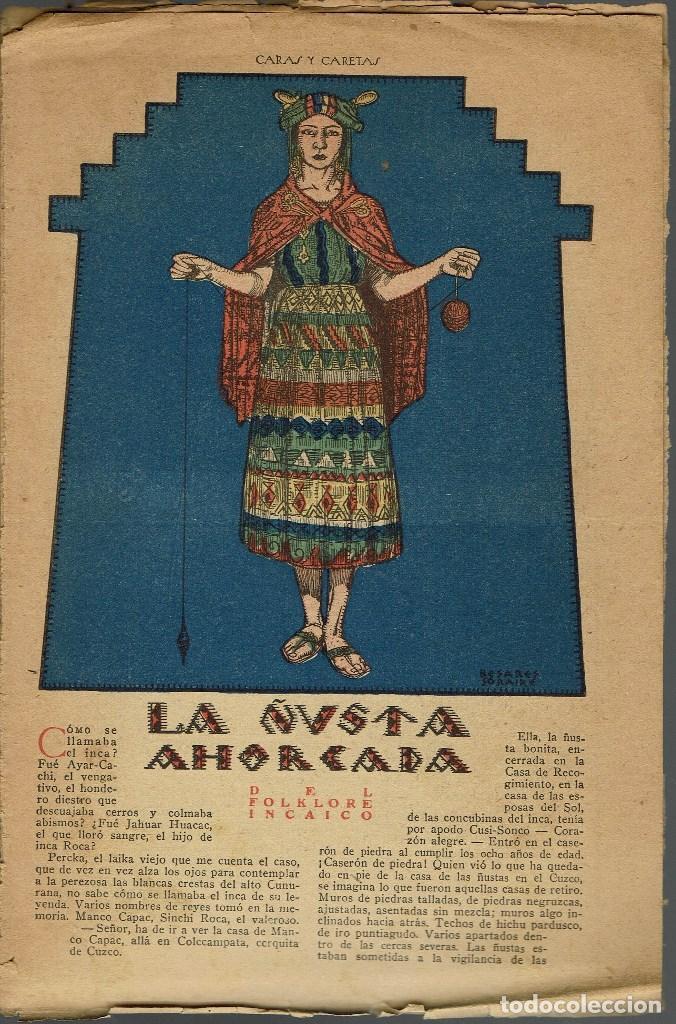 LA ÑUSTA AHORCADA, POR FAUSTO BURGOS / LA TRISTEZA DEL INCA, POR BRANDAN CARAFFA. AÑO ¿? (11.7) (Libros antiguos (hasta 1936), raros y curiosos - Literatura - Narrativa - Otros)