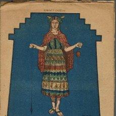 Libros antiguos: LA ÑUSTA AHORCADA, POR FAUSTO BURGOS / LA TRISTEZA DEL INCA, POR BRANDAN CARAFFA. AÑO ¿? (11.7). Lote 139054566