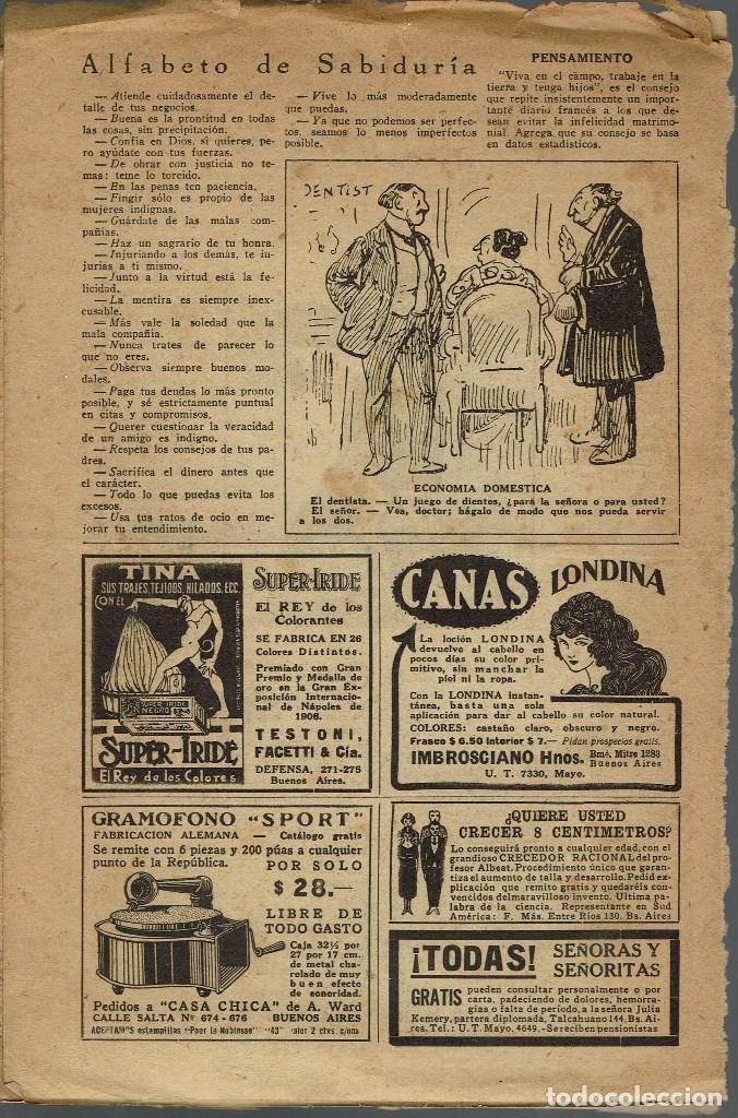 Libros antiguos: LA ÑUSTA AHORCADA, POR FAUSTO BURGOS / LA TRISTEZA DEL INCA, POR BRANDAN CARAFFA. AÑO ¿? (11.7) - Foto 2 - 139054566