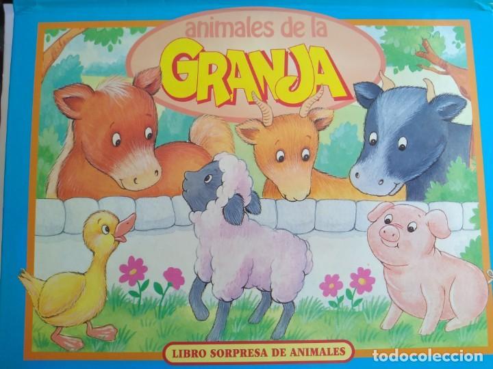 ANIMALES DE LA GRANJA. LIBRO SORPRESA DE ANIMALES.VER FOTOS ADICIONALES (Libros Antiguos, Raros y Curiosos - Literatura Infantil y Juvenil - Otros)
