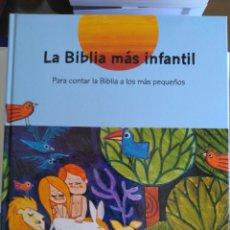 Libros antiguos: LA BIBLIA MÁS INFANTIL. MAGISTERIO CASALS. VER FOTOS ADICIONALES. Lote 159443542
