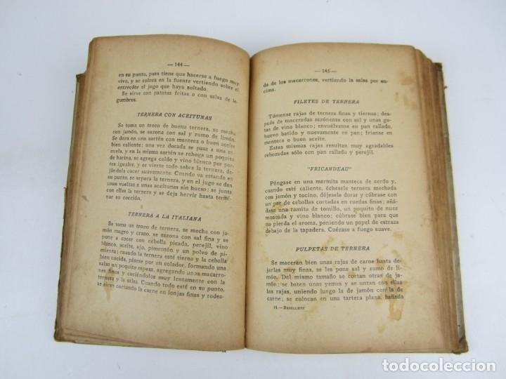 Libros antiguos: COCINA - Ramillete del ama de casa, Nieves, 1930, décimocuarta edición, Luis Gili ed., Barcelona. - Foto 3 - 139162642