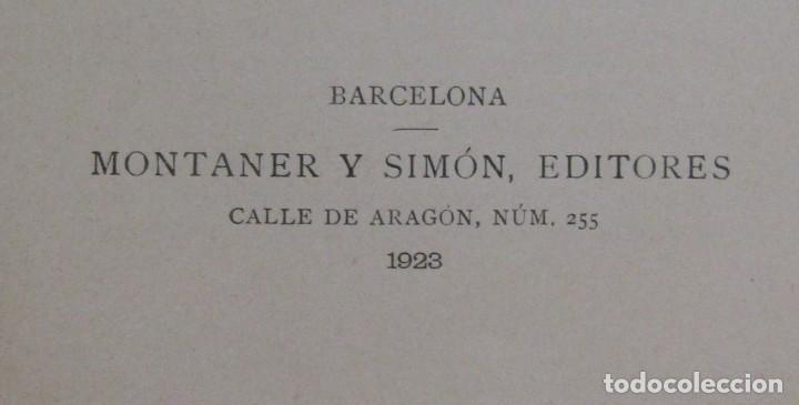 Libros antiguos: L.C. VIADA Y LLUCH - EL LIBRO DE ORO DE LA VIDA MONTANER Y SIMON EDITORES EDICON ILUSTRADA AÑO 1923 - Foto 3 - 139175498