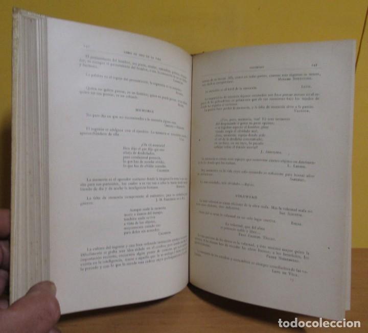 Libros antiguos: L.C. VIADA Y LLUCH - EL LIBRO DE ORO DE LA VIDA MONTANER Y SIMON EDITORES EDICON ILUSTRADA AÑO 1923 - Foto 4 - 139175498