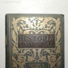 Libros antiguos: NOVÍSIMA HISTORIA UNIVERSAL. TOMO XII. EL SIGLO XVIII. E. LAVISSE Y A. RAMBAUD. Lote 139210698