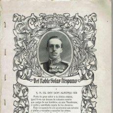 Libros antiguos: DEL NOBLE SOLAR HISPANO, POR MARCIANO ZURITA. COLECCIONABLE BLANCO Y NEGRO. AÑO 1918. (15.7). Lote 139371910