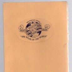 Livres anciens: THE MACKAY SYSTEM. COMMERCIAL CABLES POSTAL TELEGRAPH MACKAY RADIO. CIRCA 1930. TELEGRAFOS. Lote 139405972