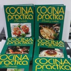 Libros antiguos: LOTE DE 7 TOMOS DE COCINA PRÁCTICA. Lote 139424670