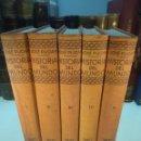 Libros antiguos: HISTORIA DEL MUNDO - J. PIJOAN - 5 TOMOS - SALVAT EDITORES - 1926 - . Lote 139429766