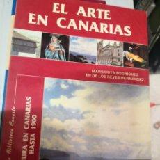 Libros antiguos: EL ARTE EN CANARIAS.PINTURA HASTA 1900.. Lote 139431762