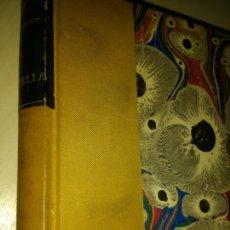 Libros antiguos: GRAZIELLA. A. DE LAMARTINE. PARIS 1854. FRANCÉS. ENCUADERNACIÓN POSTERIOR A LA ORIGINAL EN TAPA DURA. Lote 139507497