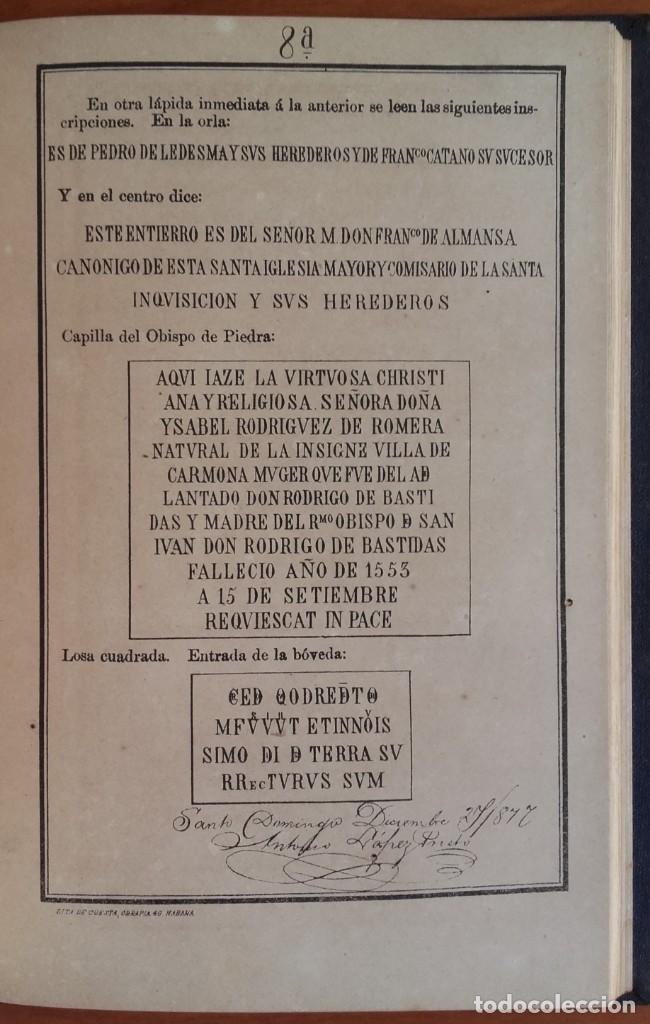 Libros antiguos: LOS RESTOS DE COLÓN. EXÁMEN HISTÓRICO-CRÍTICO. ANTONIO LÓPEZ PRIETO. CUBA. AÑO 1878. - Foto 4 - 139567026