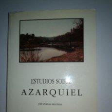Libros antiguos: ESTUDIOS SOBRE AZARQUIEL. Lote 139588210