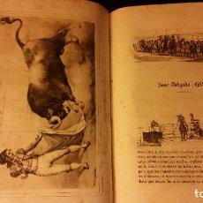 Libros antiguos: 1850 - BEDOYA - HISTORIA DEL TOREO, Y DE LAS PRINCIPALES GANADERÍAS DE ESPAÑA - 22 LÁMINAS. Lote 139634230