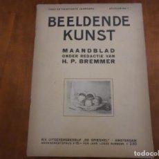 Libros antiguos: REVISTA DE ARTE BEELDENDE KUNST. Lote 139695214