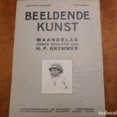 Libros antiguos: REVISTA DE ARTE BEELDENDE KUNST. Lote 139695618