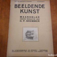 Libros antiguos: REVISTA DE ARTE BEELDENDE KUNST. Lote 139696174
