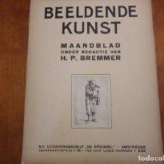 Libros antiguos: REVISTA DE ARTE BEELDENDE KUNST. Lote 139697398