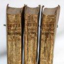 Libros antiguos: THEOLOGIA SCHOLASTICO-DOGMATICA. DIVI THOMAE AQUINATIS. VENETIIS, 1793. 3 TOMOS PERGAMINO. COMPLETA.. Lote 139698950