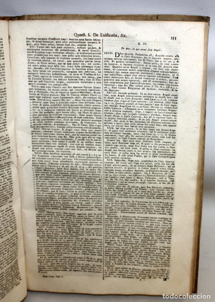 Libros antiguos: THEOLOGIA SCHOLASTICO-DOGMATICA. DIVI THOMAE AQUINATIS. VENETIIS, 1793. 3 TOMOS PERGAMINO. COMPLETA. - Foto 10 - 139698950