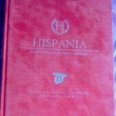 Libros antiguos: HISPANIA SUS PUEBLOS LEGADO NACIONAL. Lote 139711410