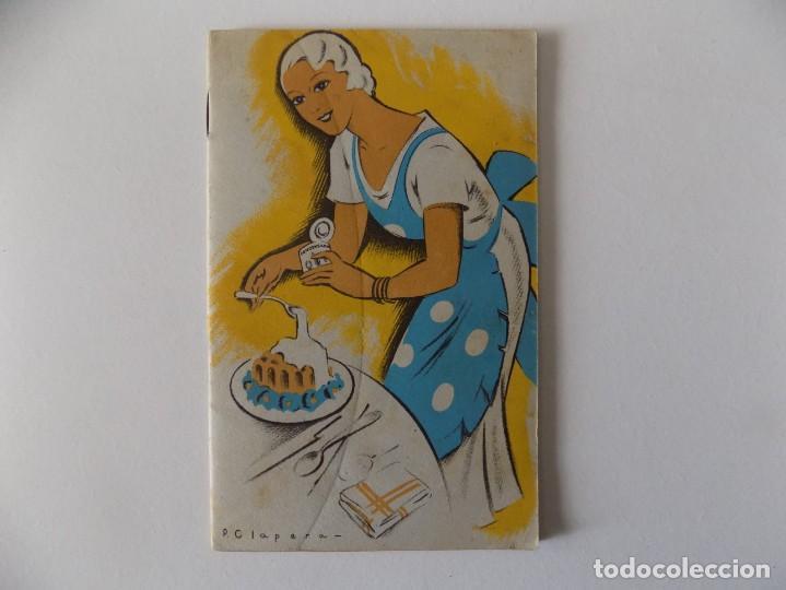 LIBRERIA GHOTICA. RECETARIO DE LA LECHE CONDENSADA. 1935. MUY ILUSTRADO. (Libros Antiguos, Raros y Curiosos - Cocina y Gastronomía)