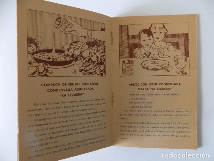 Libros antiguos: LIBRERIA GHOTICA. RECETARIO DE LA LECHE CONDENSADA. 1935. MUY ILUSTRADO. - Foto 3 - 139760358