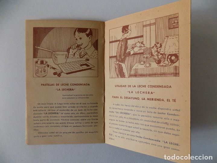 Libros antiguos: LIBRERIA GHOTICA. RECETARIO DE LA LECHE CONDENSADA. 1935. MUY ILUSTRADO. - Foto 4 - 139760358