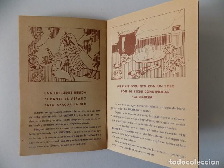 Libros antiguos: LIBRERIA GHOTICA. RECETARIO DE LA LECHE CONDENSADA. 1935. MUY ILUSTRADO. - Foto 5 - 139760358