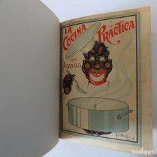 Libros antiguos: LIBRERIA GHOTICA. LA COCINA PRÁCTICA POR PICADILLO.1926. FOLIO. CONSERVA PORTADA Y CONTRAPORTADA. Lote 139764026