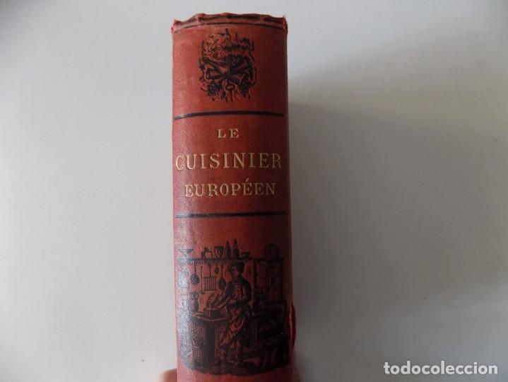 Libros antiguos: LIBRERIA GHOTICA. LE CUISINIER EUROPEEN. PAR JULES BRETEUIL.1880. ILUSTRADO CON GRABADOS. - Foto 2 - 139764578
