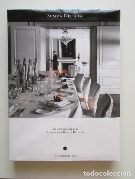 SUMMA DELECTA (SUPREMO DELEITE), LIBRO DE LUJO PARA GOURMENTS, VINOS, QUESOS, CAFÉ, DELICATESSEN (Libros Antiguos, Raros y Curiosos - Cocina y Gastronomía)