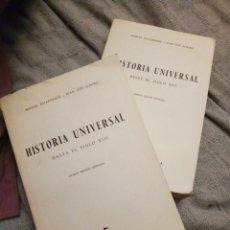 Libros antiguos: HISTORIA UNIVERSAL. ED.GREDOS. Lote 139771486
