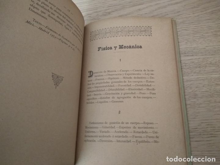 Libros antiguos: artilleria programas para examenes de aspirantes a las diversas categorias del personal obrero 1878 - Foto 2 - 139848534