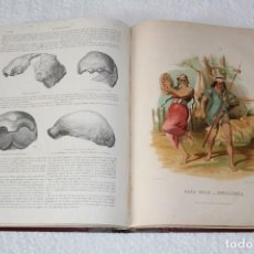 Libros antiguos: LA CREACION HISTORIA NATURAL. MAMIFEROS (EL HOMBRE) - MONTANER Y SIMON 1872-6. Lote 139884722