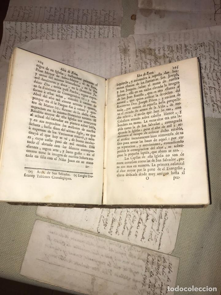Libros antiguos: IDEA DE EXEA. EJEA DE LOS CABALLEROS. IMPRESO EN PAMPLONA 1790. MUY RARO. - Foto 6 - 140027826