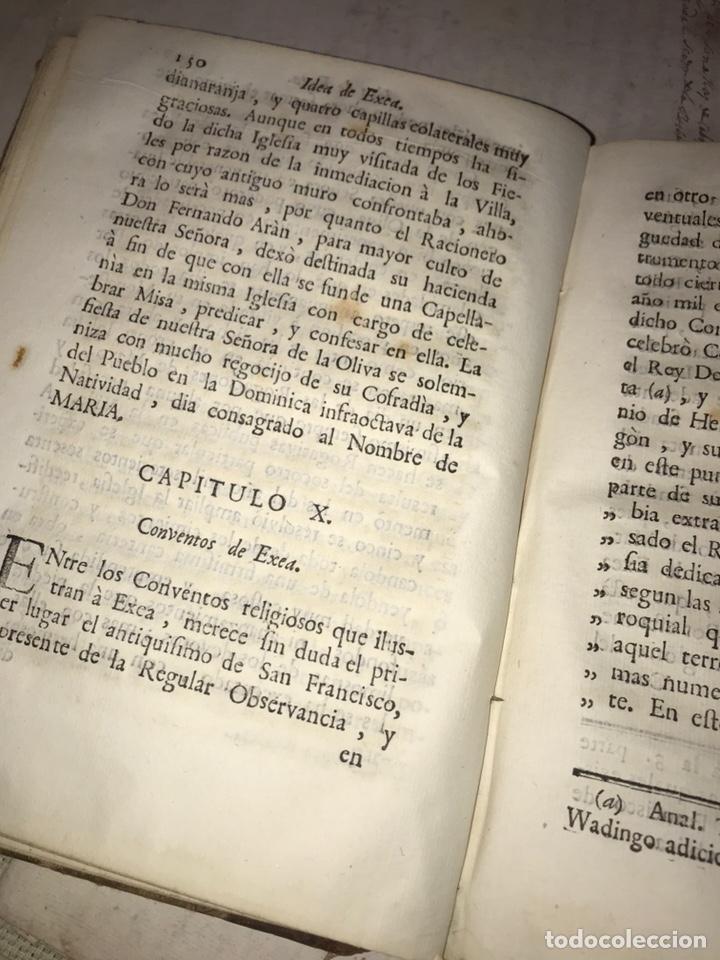 Libros antiguos: IDEA DE EXEA. EJEA DE LOS CABALLEROS. IMPRESO EN PAMPLONA 1790. MUY RARO. - Foto 7 - 140027826