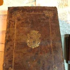 Libros antiguos: FUEROS DE ARAGÓN. 1624. 4 OBRAS. ENCUADERNACIÓN ORIGINAL ESCUDO ORO PARA DIPUTADOS EN CORTES. Lote 140031014