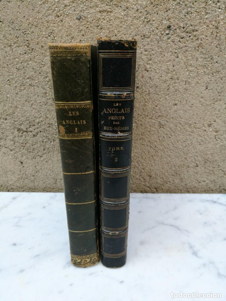 LES ANGLAIS PEINTS PAR EUX MEMES 1841 (Libros Antiguos, Raros y Curiosos - Ciencias, Manuales y Oficios - Otros)