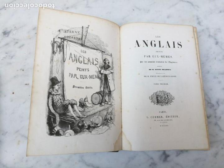 Libros antiguos: Les anglais peints par eux memes 1841 - Foto 3 - 140040942