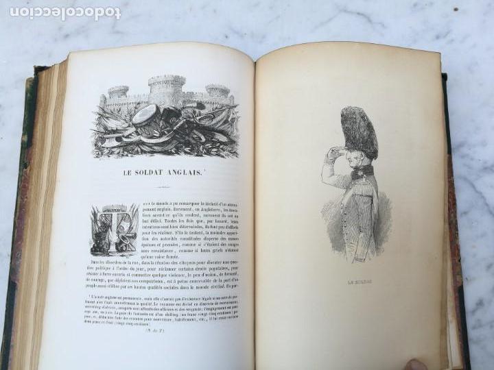 Libros antiguos: Les anglais peints par eux memes 1841 - Foto 10 - 140040942
