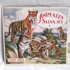 Libros antiguos: EL REINO ANIMAL PARA NIÑOS Nº 1 ANIMALES SALVAJES RAMON SOPENA AÑOS 20. Lote 140056518
