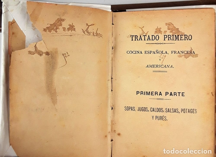 Libros antiguos: LA COCINERA MODERNA. MANUAL PRÁCTICO DE COCINA. E. V. IMP. CASA BENEFICENCIA. VALENCIA. 1888. - Foto 2 - 140084534