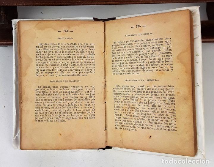 Libros antiguos: LA COCINERA MODERNA. MANUAL PRÁCTICO DE COCINA. E. V. IMP. CASA BENEFICENCIA. VALENCIA. 1888. - Foto 4 - 140084534