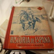 Libros antiguos: HISTORIA DE ESPAÑA EDELVIVES SEGUNDO GRADO (1957). Lote 140127178