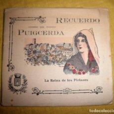 Libros antiguos: RECUERDO DE PUIGCERDA, LA REINA DE LOS PIRINEOS, GRAN DESPLEGABLE, PRINCIPIOS SIGLO XX. Lote 140174818