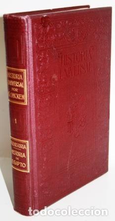 Libros antiguos: HISTORIA UNIVERSAL. ONCKEN, Guillermo. 46 tomos - Foto 3 - 140243970