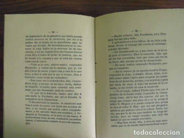Libros antiguos: Libro Rinconete y Cortadillo - Miguel de Cervantes Saavedra (Tercer Centenario Quijote 1905) - Foto 4 - 140276322
