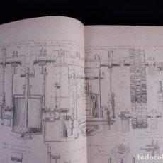 Libros antiguos: ATLAS DU TRAITE ELEMENTAIRE DES APPAREILS A VAPEUR DE NAVIGATION. PARIS 1865. Lote 140375530